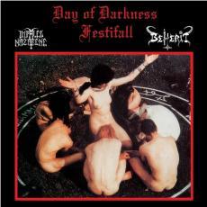 Impaled Nazarene / Beherit - Day of Darkness LP (red vinyl)