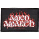 Amon Amarth - Red Flame (Patch)