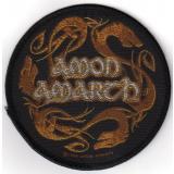 Amon Amarth - Dragons Circular (Aufnäher)