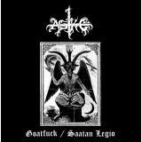 Aske - Goatfuck / Saatan Legio LP