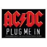 AC/DC - Plug me in Aufnäher